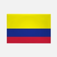 Colombia flag Rectangle Magnet (100 pack)