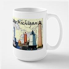 Lighthouses Of Lake Michigan MugMugs