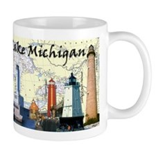 Lighthouses of Lake Michigan Mug