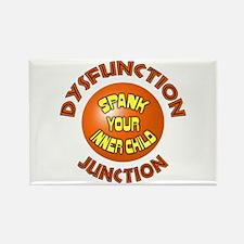 Dysfunction Junction Spank Yo Rectangle Magnet