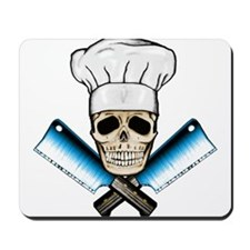 Chef Skull--Color 1-- Mousepad