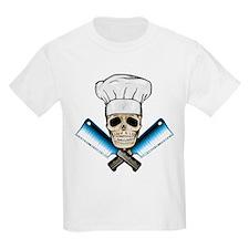 Chef Skull--Color 1-- T-Shirt