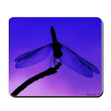 Dragonfly at Dusk Mousepad