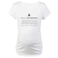 U.S.S. Enterprise Plaque Shirt