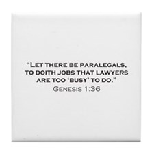 Paralegal / Genesis Tile Coaster