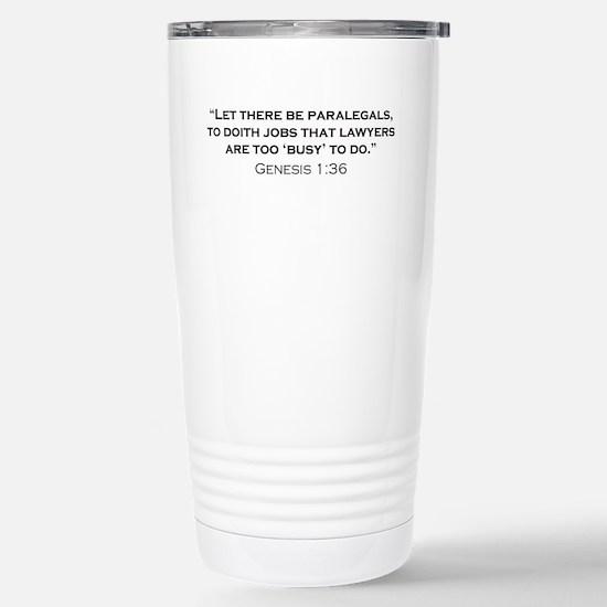 Paralegal / Genesis Stainless Steel Travel Mug