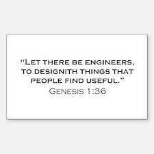 Engineer / Genesis Decal