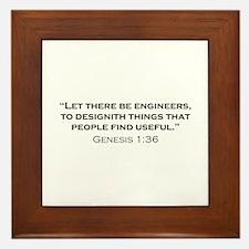 Engineer / Genesis Framed Tile