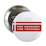Denmark For Freedom Button