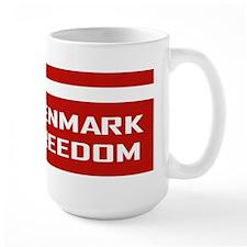 Denmark For Freedom Mug