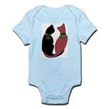 Holiday Cats Infant Bodysuit