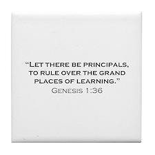 Principal / Genesis Tile Coaster
