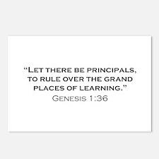 Principal / Genesis Postcards (Package of 8)