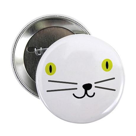 """CRAZYFISH kittie 2.25"""" Button"""