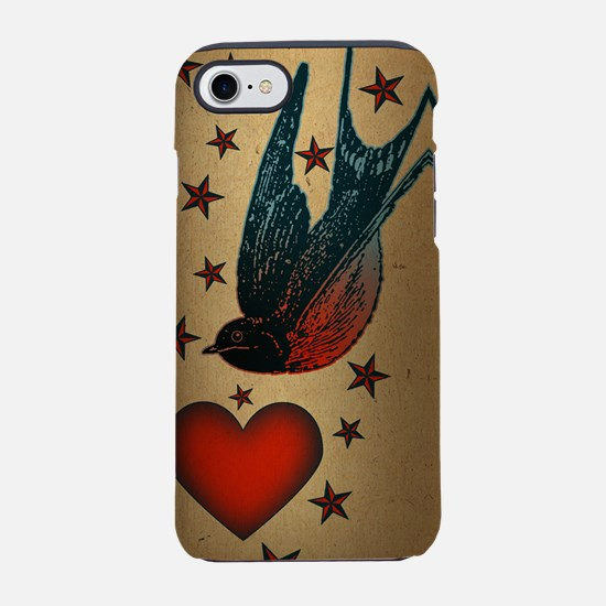 swallows-and-stars_ff.png iPhone 7 Tough Case