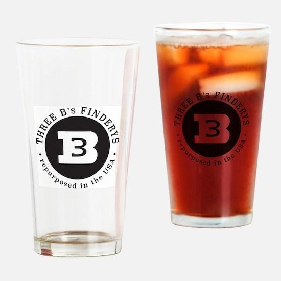 Three B's Drinking Glass