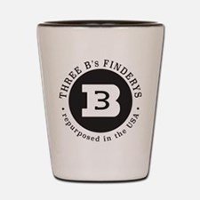 Three B's Shot Glass