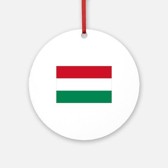Hungary flag Ornament (Round)