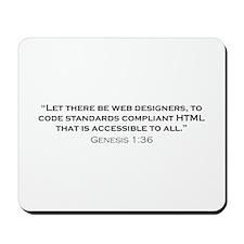 Web Designer / Genesis Mousepad
