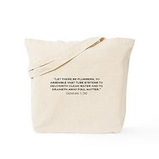 Plumber / Genesis Tote Bag