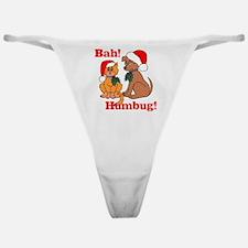 Bah! Humbug! Classic Thong