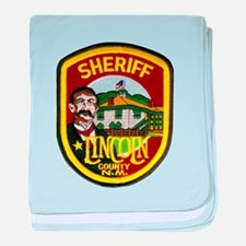Lincoln County Sheriff baby blanket