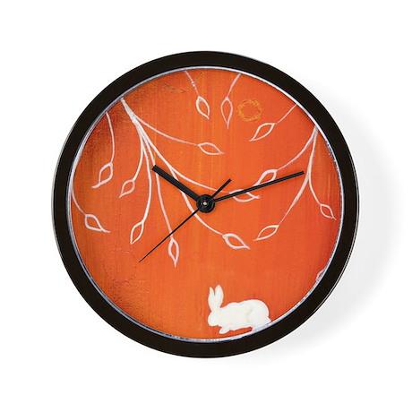 Bunny Bower1 Wall Clock