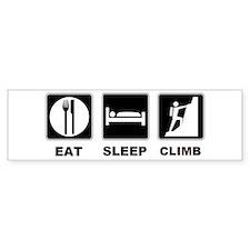 eat seep climb Bumper Sticker