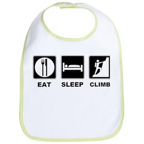 eat seep climb Bib