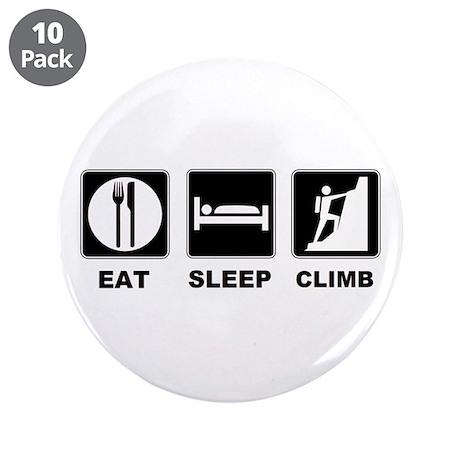 "eat seep climb 3.5"" Button (10 pack)"