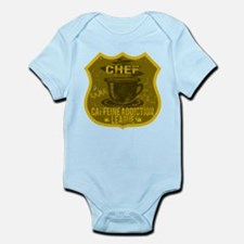 Chef Caffeine Addiction Infant Bodysuit