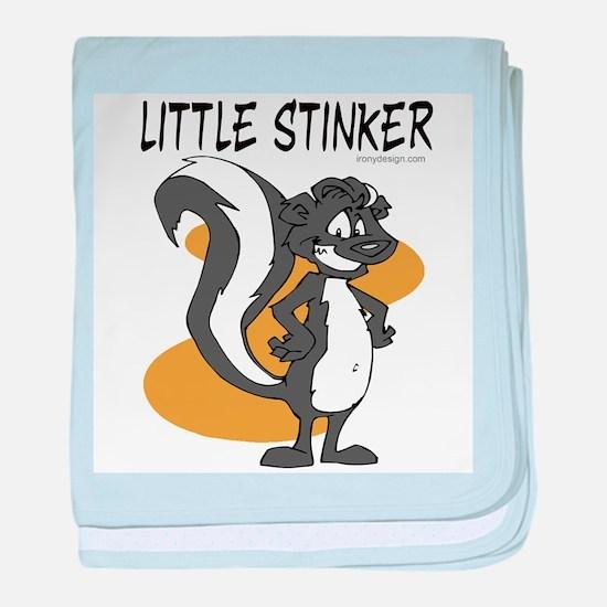 Little Stinker baby blanket