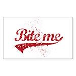 Bite Me Sticker (Rectangle)