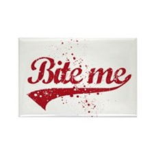Bite Me Rectangle Magnet