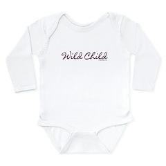 Wild Child Long Sleeve Infant Bodysuit