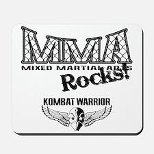 MMA Rocks Grey Mousepad