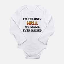 I'm the only Hell Long Sleeve Infant Bodysuit