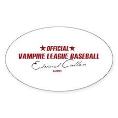Vampire Baseball Decal