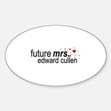 Future Mrs Cullen Sticker (Oval)