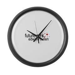 Future Mrs Cullen Large Wall Clock