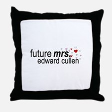 Future Mrs Cullen Throw Pillow