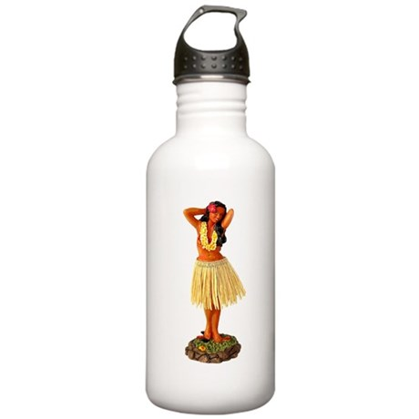 Hula Girl Stainless Water Bottle 1.0L