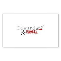 Edward & Me Decal