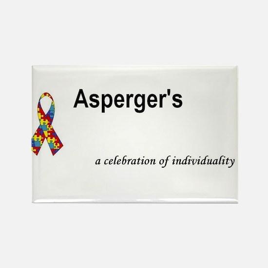 Autism/Asperger's Awareness Rectangle Magnet