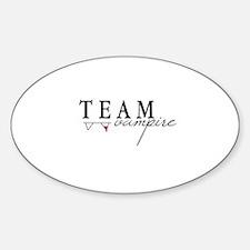 Team Vampire Sticker (Oval)