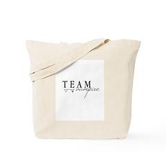 Team Vampire Tote Bag