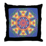 A Colorful Star Throw Pillow