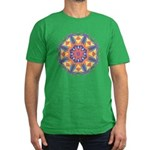 A Colorful Star Men's Fitted T-Shirt (dark)