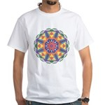 A Colorful Star White T-Shirt