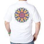 A Colorful Star Golf Shirt